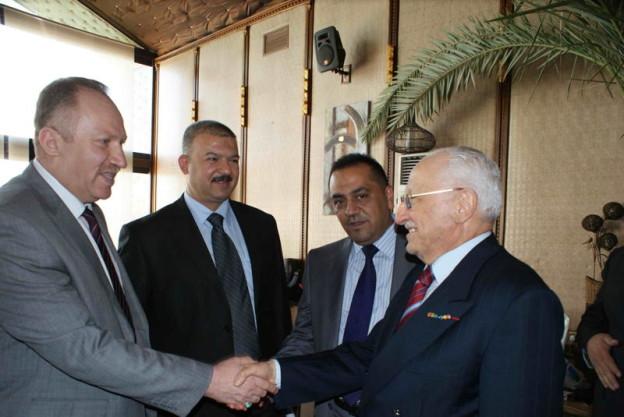 أعضاء مجلس الغرفة يشاركون في استقبال رئيس وزراء تركيا