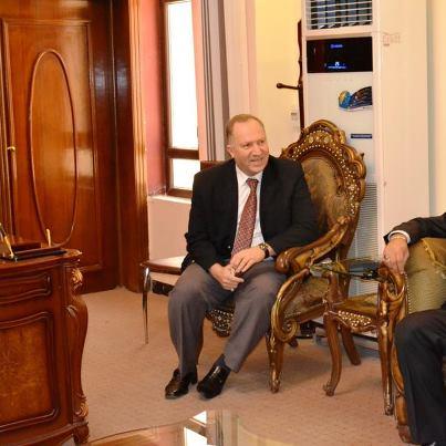 القنصل المصري في العراق يبدي استعداد بلاده استقبال التجار العراقيين