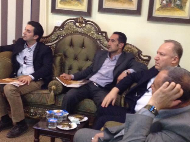 زيارة امين بغداد لغرفة تجارة كربلاء