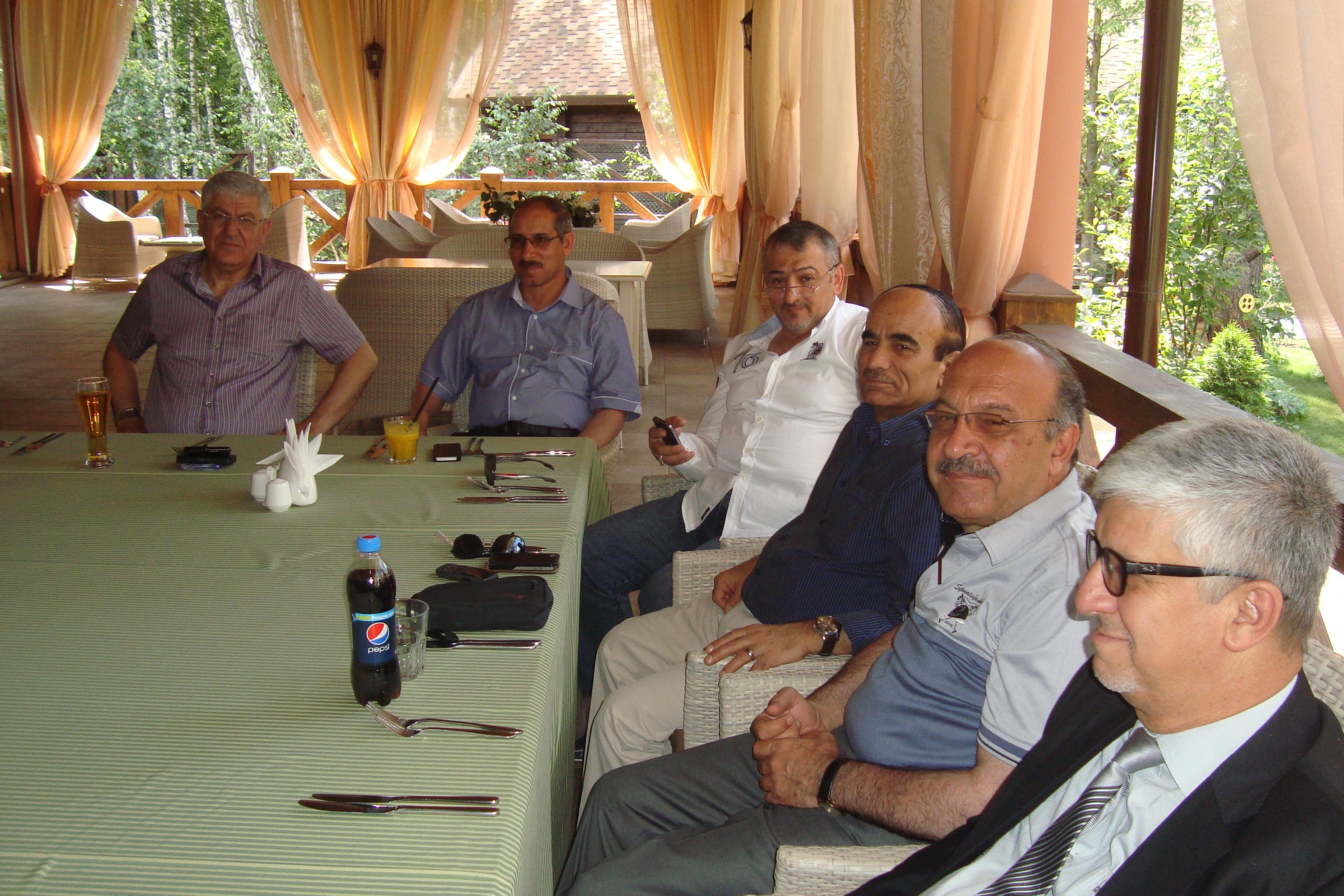 وفد الغرفة يشارك في الملتقى العراقي الاوكراني