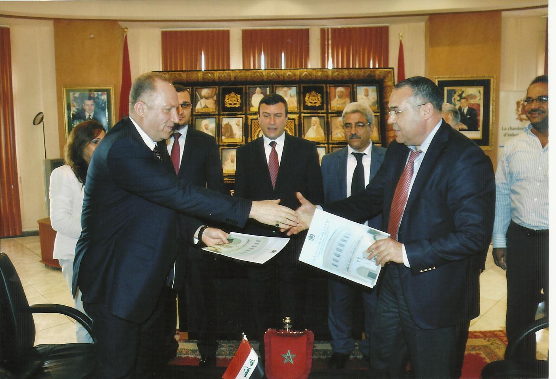 تشكيل مجلس اعمال عراقي – مغربي