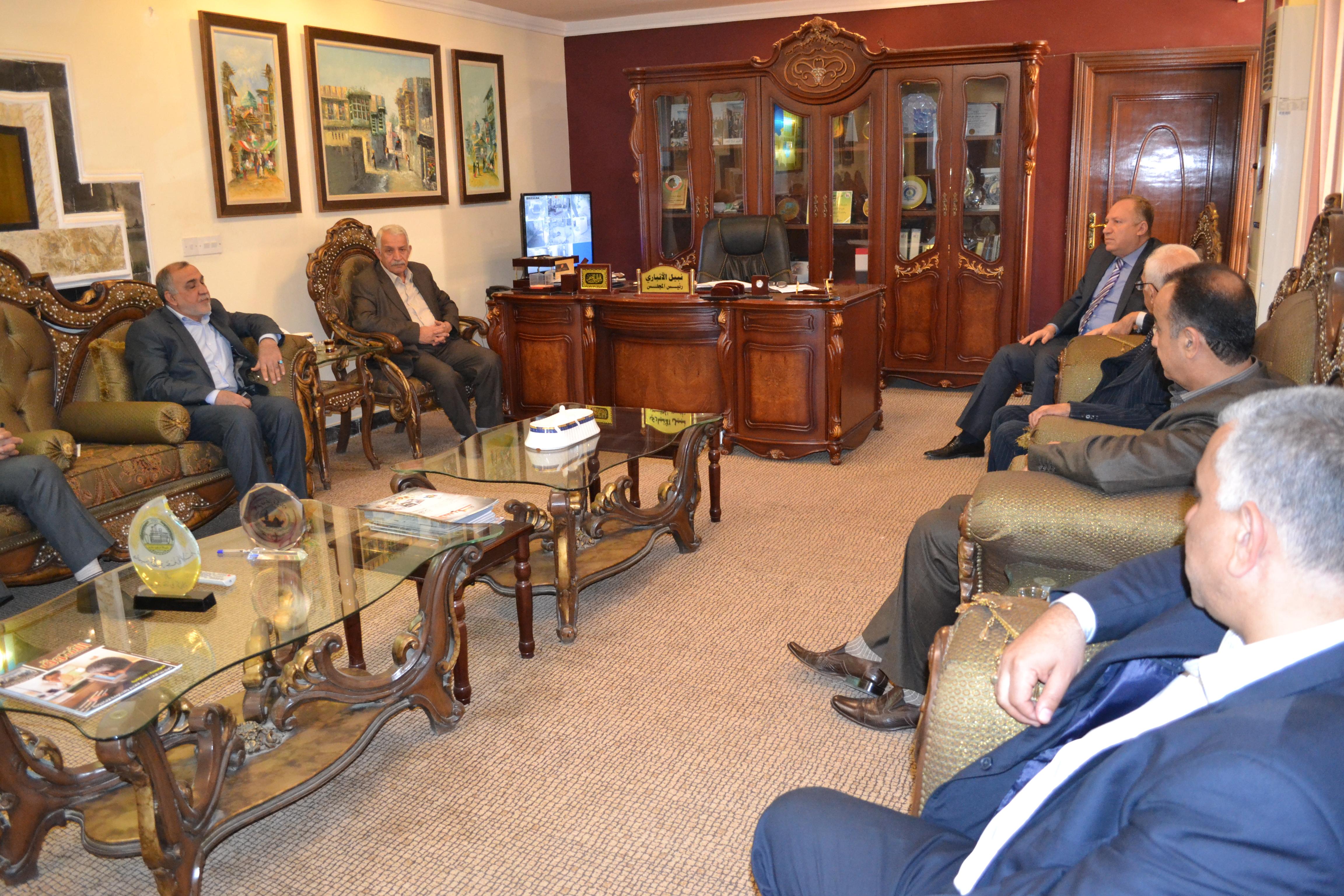 لقاء عمل مع مدير عام تربية محافظة كربلاء