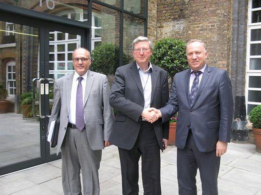 السيد نبيل الأنباري  يزور الدار العالمية لندن International House London – United Kingdom