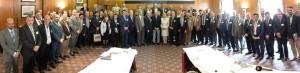 وفد الغرفة الى مؤتمر مجلس رجال الاعمال البريطاني 30-5-2014