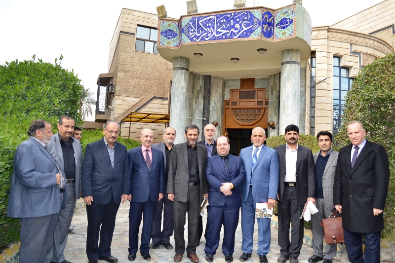 وفد رجال اعمال ايراني من محافظة قزوين يزور الغرفة
