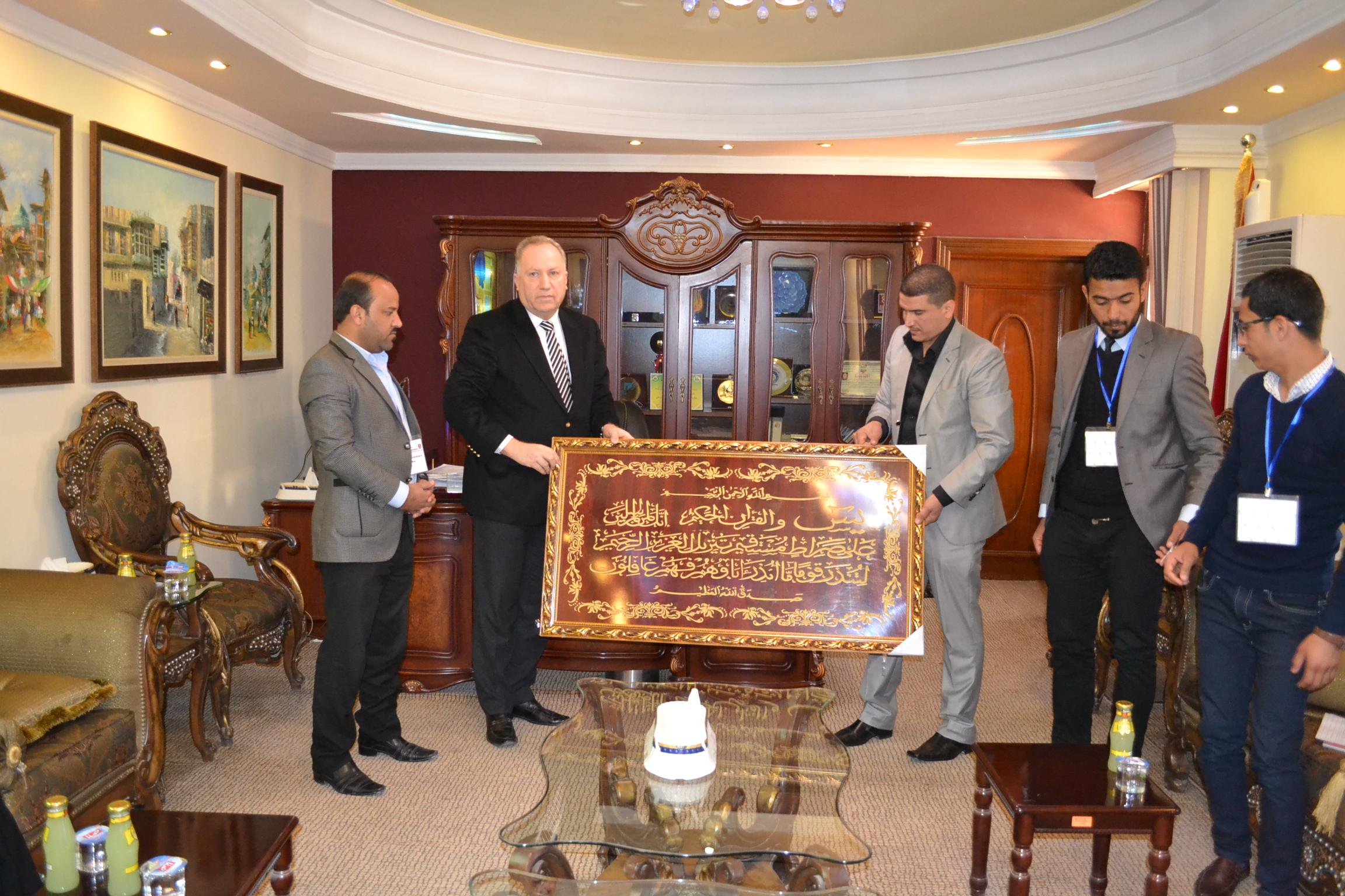 مركز التطوير العلمي والإعلامي العراقي في ضيافة الغرفة