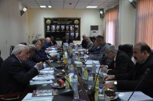صورة اجتماع المجلس