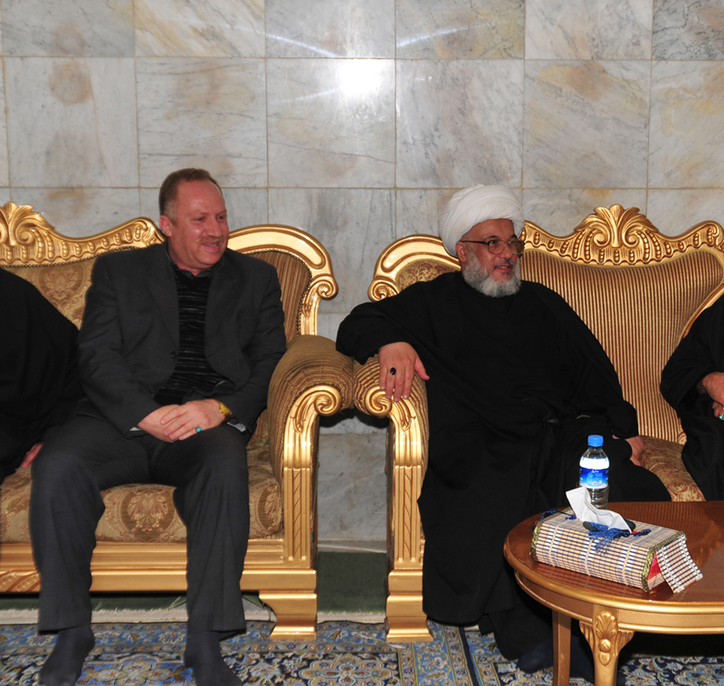 غرفة تجارة كربلاء تؤكد سعيها لتطوير مدينة الحسين (ع)